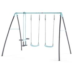 Plum Premium Metal Double Swing Glider with Mist Shop at Kids Mega Mart Australia Single Swing, Double Swing, Physical Play, Cost Of Goods, Swing Seat, Mist Spray, Galvanized Steel, Gliders