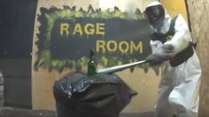 Rage room no replacement for therapy, psychotherapist says