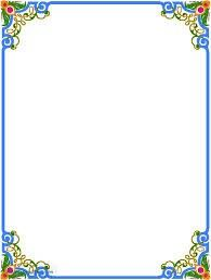 Pretty flower designs to draw on paper beautiful chart floral border design green wall ideas liciou Boarder Designs, Frame Border Design, Page Borders Design, Borders For Paper, Borders And Frames, Borders Free, Motif Floral, Floral Border, Calligraphy Borders