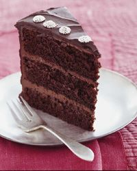 Chocolate Layer Cake with Peppermint Ganache Frosting Recipe on Food & Wine