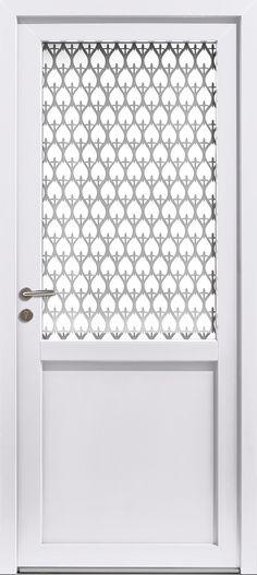 Porte d\u0027entrée moderne et design en PVC #moderne #design #porte - pose d une porte d entree