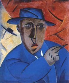 'Portrait of the Artist' (1912) by Vladimir Tatlin