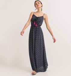Longue+robe+à+fines+bretelles