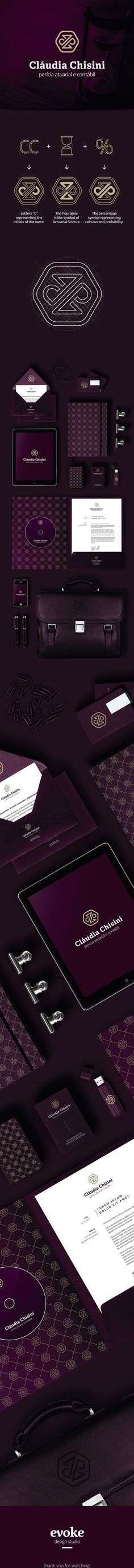 Cláudia Chisini - Actuarial & Accounting by Evoke Design (Branding Served)