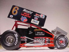 JEFF GORDON MOLDS UNLIMITED WORLD OF OUTLAWS SPRINT CAR GMP 1:18 DIECAST NASCAR #GMP