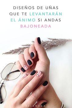 Cute Nails, Pretty Nails, My Nails, Nail Ring, Minimalist Nails, Hair Skin Nails, Nail Decorations, Mini Albums, Nail Colors