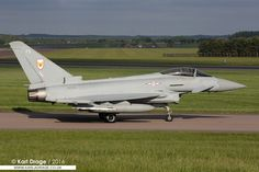 ZK333 / FS - Eurofighter Typhoon FGR4 - No. 1(F) Squadron, RAF