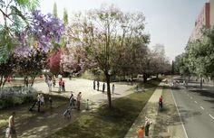 Parque lineal Sant Andreu-Sagrera, Jordi Farrando - BETA