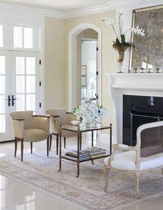 Sweet neutral formal living room