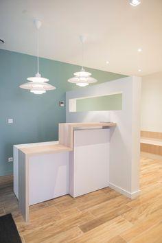Christine Clavère  Architecture intérieure  Création d'un cabinet médical