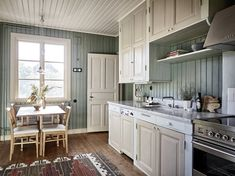 Decorating Ideas For The Kitchen Walls is extremely important for your home. Whether you pick the Painting Colors For Kitchen Walls or Kitchen Decor Ideas Apartment, you will make the best Color Ideas For Kitchen Walls for your own life. Kitchen Colors, Kitchen Decor, Kitchen Walls, Swedish Kitchen, Victorian Kitchen, Interior Decorating, Interior Design, Decorating Ideas, Decor Ideas
