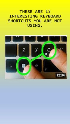 These shortcuts improve your everyday work and give an absolute boost in your productivity. These hotkey combinations will certainly come in handy for every Windows and OS X user. Computer Love, Computer Science, Pc Music, Control Key, Program Management, Keyboard Shortcuts, Programming, Productivity, Improve Yourself
