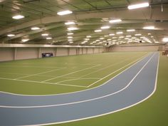 Arena #1 is an athletic exercise and multipurpose area which is approximately 31,000 square feet. It has rubberized multi-purpose athletic flooring, one full-size soccer field and three practice soccer fields, 4 pickleball courts, 4 volleyball courts, a 1/10 mile two-lane walking/jogging track and a 2,150 square foot area designated for a future indoor playground.