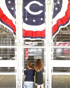 Happy Opening Day everybody! We're waiting for the gates to open at Great American Ball Park in Cincinnati. #mbcoopeningday #OpeningDay #CapsOn