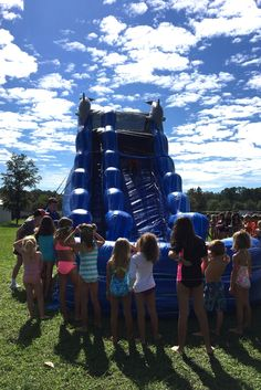 Water-slide fun at Nocatee's 2017 Summer Camps! Campers enjoyed a week filled with water themed activities 2017 Summer, Summer Fun, Summer Time, Summer Camps, Day Camp, Splish Splash, Water Slides, Campers, Children
