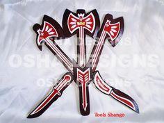 Shango Wood Tools Shango Tools Santeria Orishas by OshaDesigns, $25.00