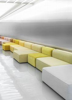 Rope modular sofa by Hans Hornemann