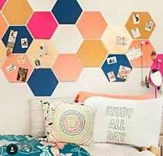 Cure beehive cork board idea