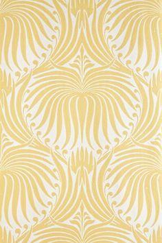 Vintage lotus wallpaper for table numbers