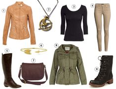 Get The Look : Katniss Everdeen (Hunger Games) katniss