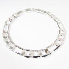 Fiche produit de la gourmette à maille figaro Figaro, Bracelets, Silver, Style, Jewelry, Glow, Bangle Bracelets, Jewellery Making, Jewlery