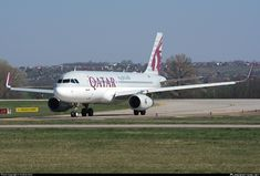 A7-AHU Qatar Airways Airbus A320-232(WL)