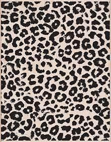 Hero Arts Leopard Print Background Wood Mounted Rubber Stamp S5883