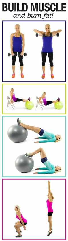 This is a great circuit workout for a total body transformation!