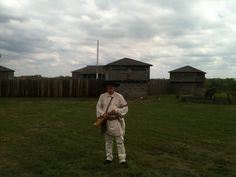 Dad at the Fort