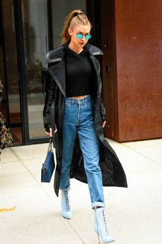 After a long week, one shopping trip can take a lot out of you — just ask Gigi Hadid. The supermodel traveled from Paris, where she walked the VS Runway,