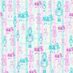 Vintage Girls Background ~ LÁMINAS VINTAGE, ANTIGUAS,RETRO Y POR EL ESTILO.... (pág. 505)