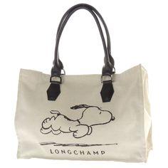 Snoopy Longchamp Tote