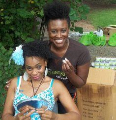 Our own Linda  at the Atlanta Naturals Natural Hair Support Group (Atlanta, GA) - Meetup