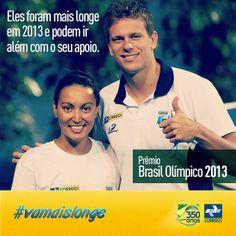 Dia 17 de dezembro acontecerá o Prêmio Brasil Olímpico, no qual grandes esportistas disputam o troféu de melhor atleta do ano. Entre os concorrentes, estão os atletas dos Correios Cesar Cielo e Poliana Okimoto.