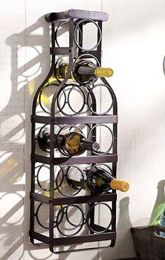industrial wall mounted wine bottle rack on sale http://rstyle.me/n/vdua5r9te