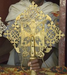 Ethiopian Processional Cross by A. Davey
