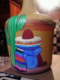 MEXICANO Vase, Mugs, Tableware, Home Decor, Mexican, Bottles, Dinnerware, Decoration Home, Room Decor
