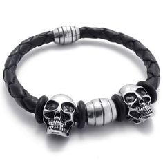 D\u0026amp;A on Pinterest | Stainless Steel, Color Black and Skull Rings