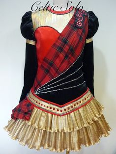 Custom designed Irish Dance Dress, THE DRAGON DRESS | eBay