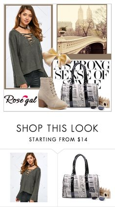 """""""Sweater rosegal"""" by helena1990 ❤ liked on Polyvore"""