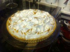 Pie de limón recién salido del horno :)