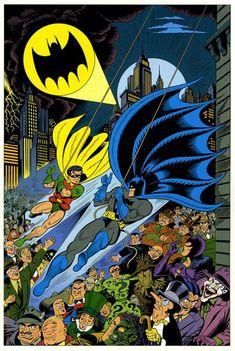 Art by Dick Sprang. eras love his classic interpretation of Batman.