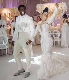 Black couples cute couples black love black is beautiful black art gucci mane wedding gucci mane Gucci Mane Wedding, Bridal Dresses, Wedding Gowns, Wedding Blog, Wedding Tuxedos, Wedding Outfits, Wedding Dress With Feathers, African Wedding Dress, Love Is In The Air