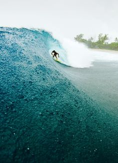 Surfing with rain