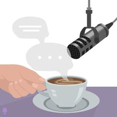 Letting coffee do the talking - Helllooo, Monday! While I am ready for you, I'm just going to let the coffee do the talking for t - Just Go, Let It Be, Vector Art, Branding, Christian, Photo And Video, Coffee, Tableware, Artwork