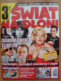 SnD 8/2014 MARILYN MONROE,Jim Morrison,Elvis Presley,Michael Hutchence | eBay