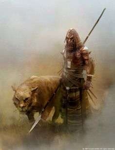 Dark whispers tell of men who run with the beasts and protect them.