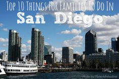 All the best things to do in San Diego - and great reasons to put it on your list of places to visit! Trekaroo.com/blog Plus, great lodging and the best hotel recommendations!