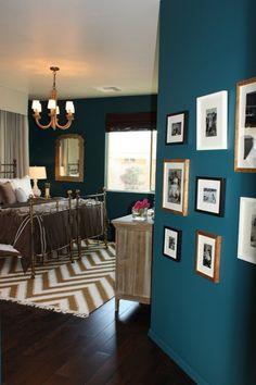20 Marvelous Navy Blue Bedroom Ideas - ArchitectureArtDesigns.com