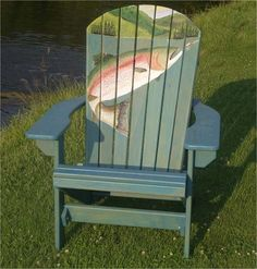Rainbow Trout Chair
